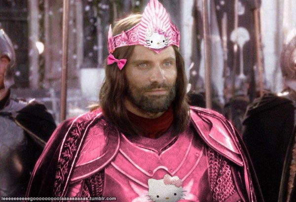aragorn hello kitty