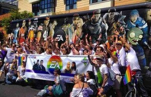 EA celebrates HRC best places to work for lgbt people
