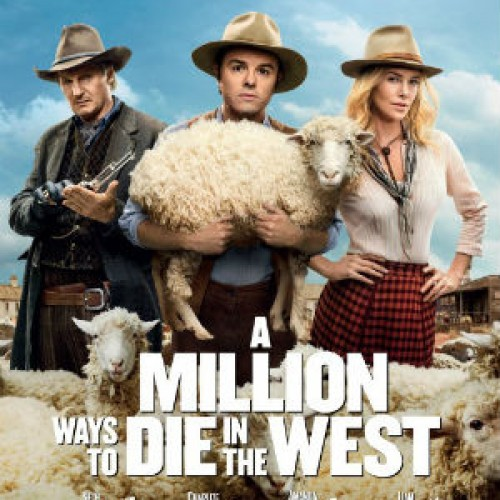 Seth MacFarlane's A Million Ways to Die In the West NSFW trailer