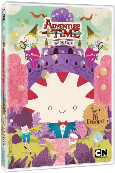 Adventure Time The Suitor Dvd Review Nerd Reactor