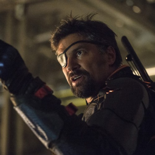Arrow's Manu Bennett responds to Joe Manganiello as Deathstroke