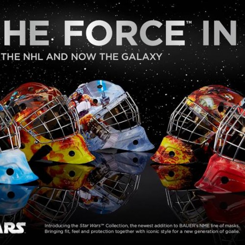 Use the Force! Bauer Hockey unveils five 'Star Wars' themed masks