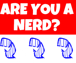 are you a nerd thumbnail