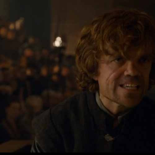 Game of Kombat! Tyrion's speech has a flawless victory