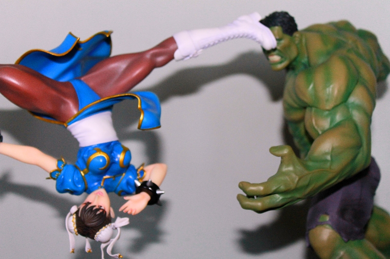 Street Fighter Chun Li Bishoujo Statue Review Nerd Reactor