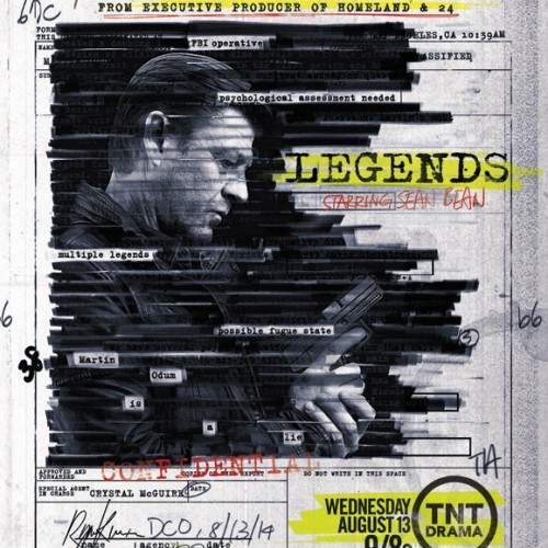 Legends starring Sean Bean gets a key art and premieres August 13th
