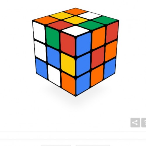Google celebrates 40 years of Rubik's Cube