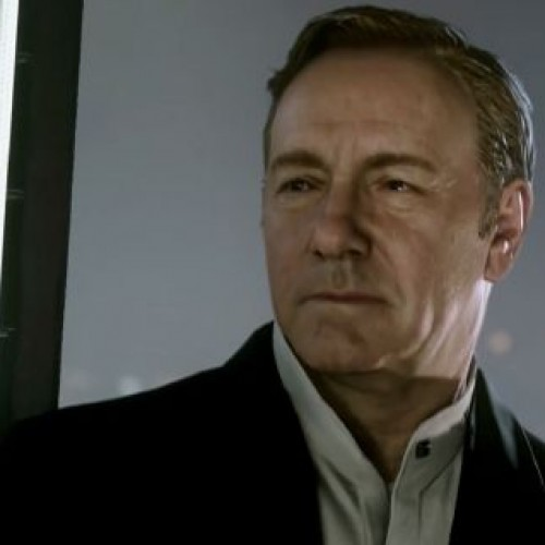 Kevin Spacey is in Call of Duty: Advance Warfare?!