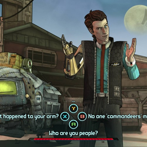 First screenshots from Telltale Games' Tales from the Borderlands