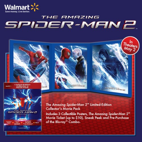 Amazing Spider-Man 2 Walmart exclusive movie pack