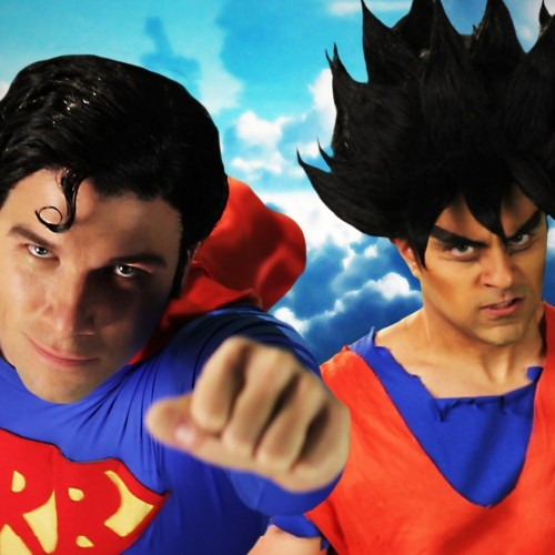 Epic Rap Battles of History does Superman vs. Goku