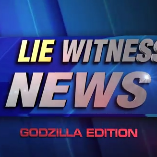 Is Godzilla real? Some people on Hollywood Blvd thought so