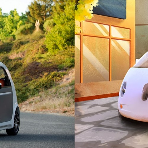 Google designs and builds its first self-driving vehicle