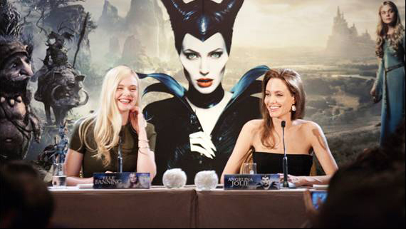 maleficent press event