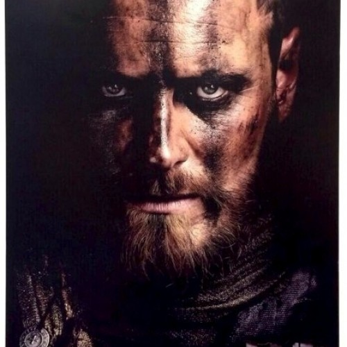 Character posters of Michael Fassbender and Marion Cotillard for 'Macbeth'