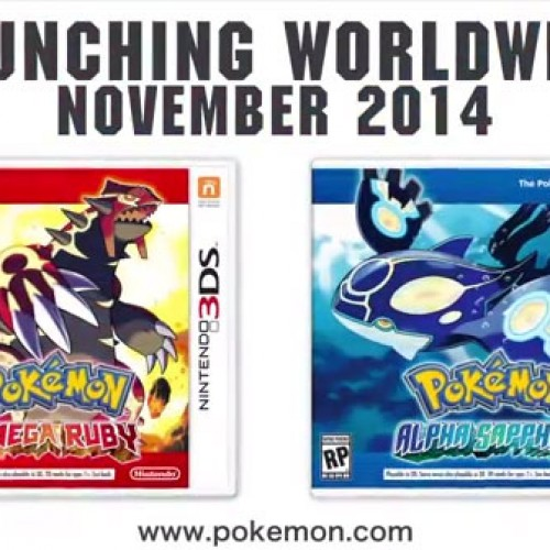Rayquaza returns in Pokémon Omega Ruby and Pokémon Alpha Sapphire, plus demo announced