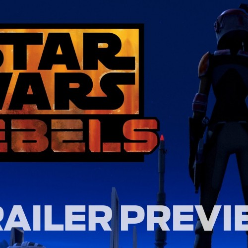 Here's the teaser for the Star Wars Rebels trailer