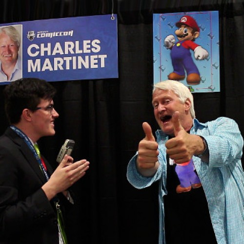 Ottawa Comiccon 2014: Interview with the voice of Mario, Charles Martinet