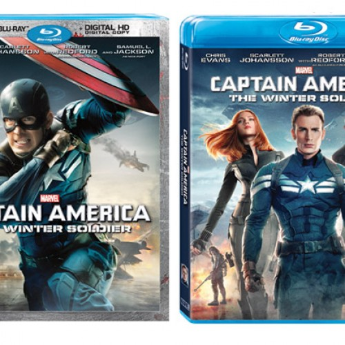Captain America: The Winter Soldier and Agents of SHIELD on Blu-ray September 9th