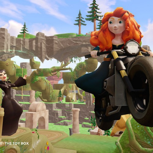 Maleficent and Merida will be playable in Disney Infinity 2.0