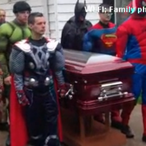 Comic book funeral: 5-year-old cancer victim is given the best parting gift