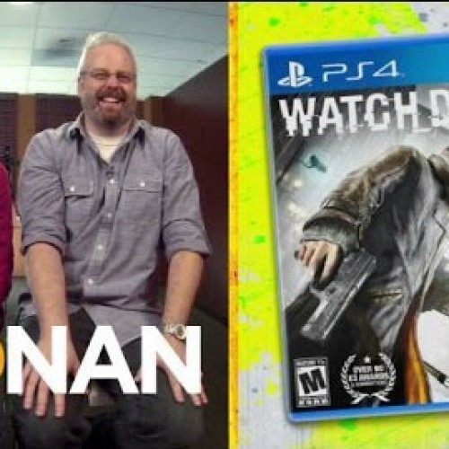 Conan's Clueless Gamer plays Watch Dogs