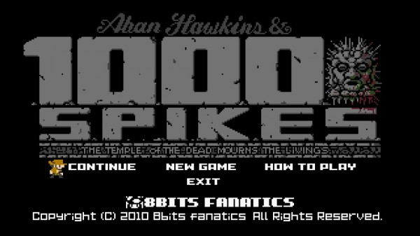 1001 Spikes 8 bit fanatics