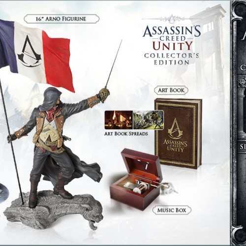 E3 2014: Assassin's Creed Unity Collector's Edition