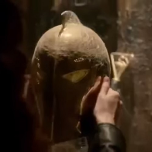 Doctor Fate's helmet appears in Constantine