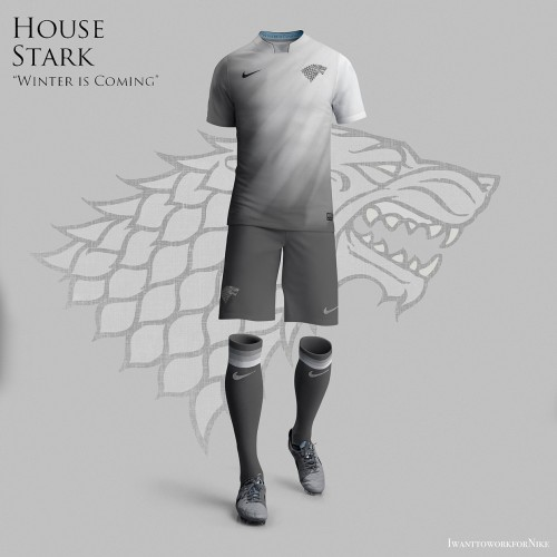 Game of Thrones soccer uniforms – Westeros World Cup