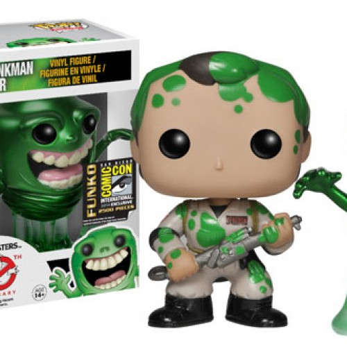 Ghostbusters Pop! Figures SDCC 2014 Exclusive