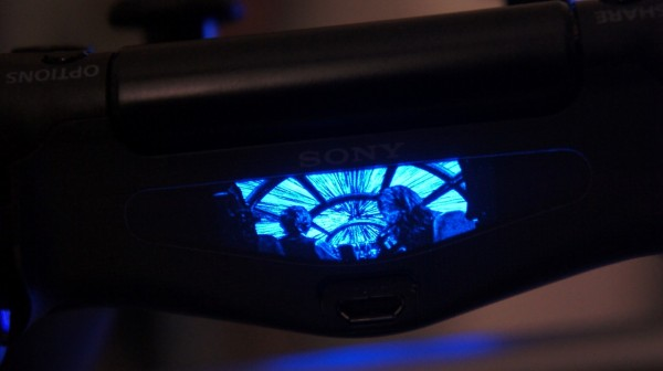Review ps4 light bar decal improves on the dualshock 4 controller sony dsc aloadofball Images