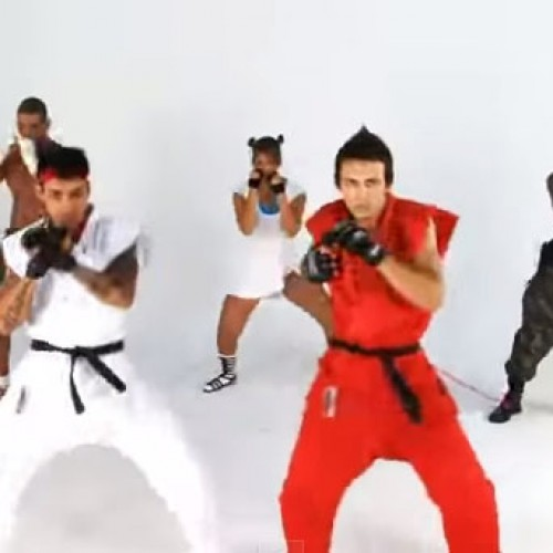 Possibly the best Street Fighter music video ever!