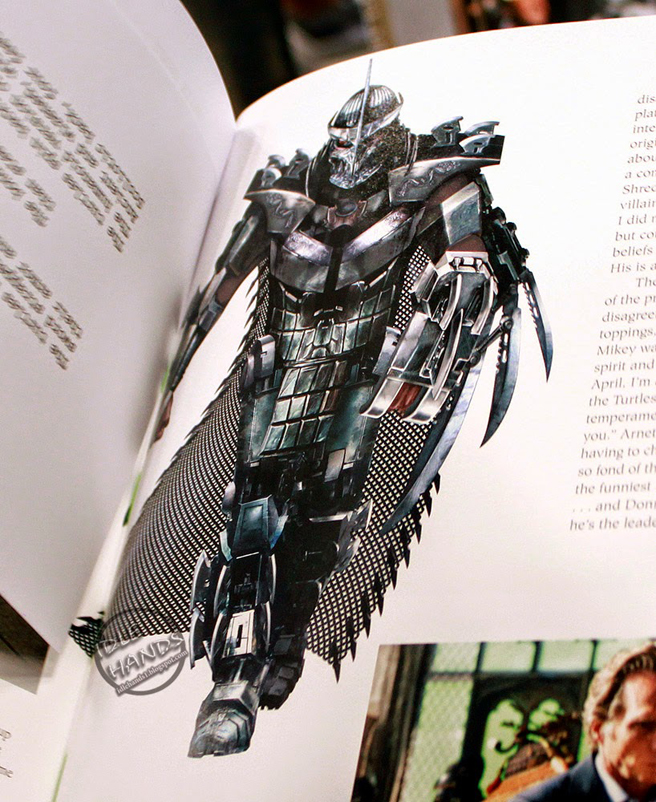 Get A Good Look At Master Splinter And Shredder In Tmnt Concept
