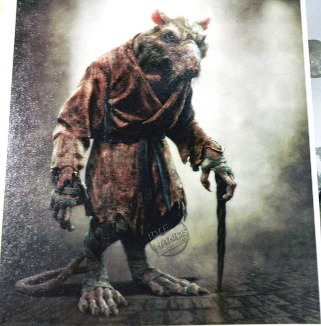 Get a good look at Master Splinter and Shredder in TMNT ...