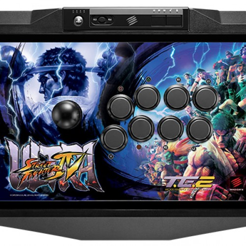 Ultra Street Fighter 4 Madcatz arcade stick will work on both PS3 and PS4