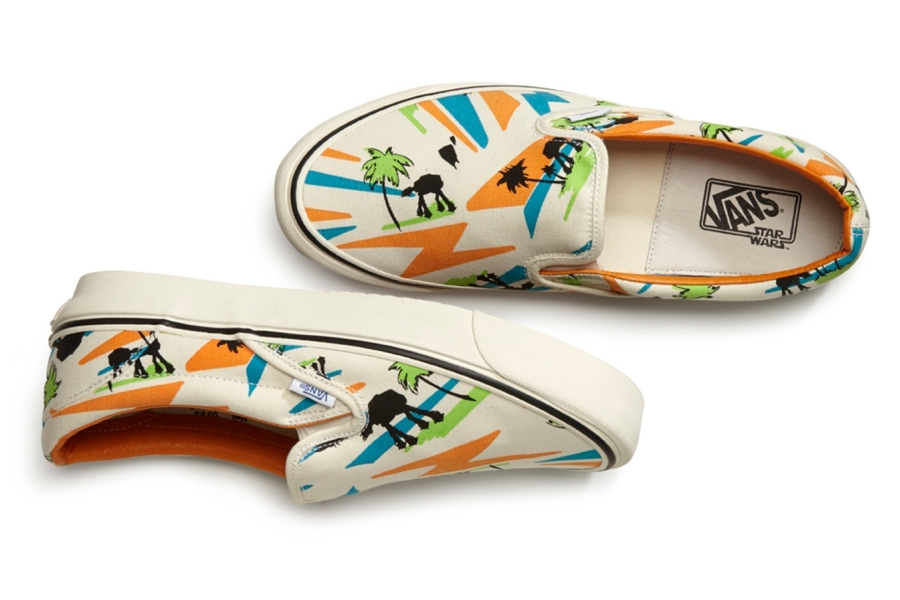 a20329920daa3 These aren't the shoes you're looking for - Vans x Star Wars line ...