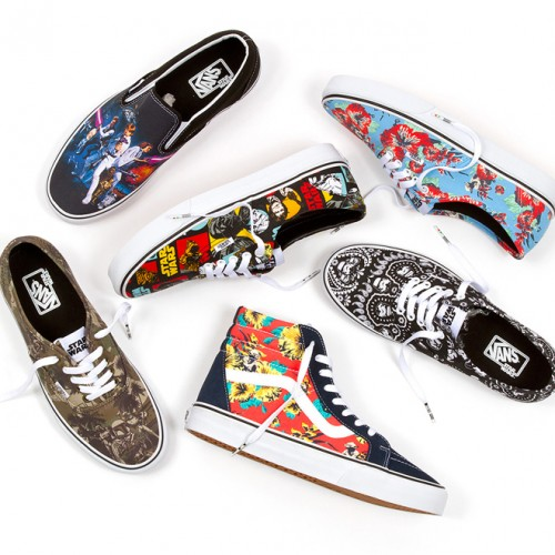These aren't the shoes you're looking for – Vans x Star Wars line