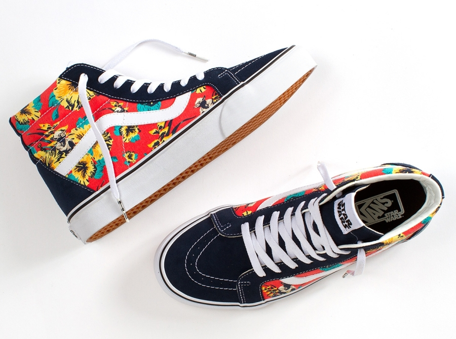 06210a266d These aren t the shoes you re looking for - Vans x Star Wars line ...