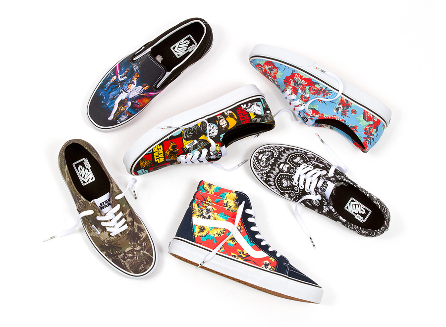 vans star wars shoes 2017