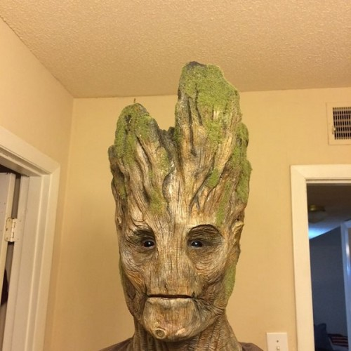 This Guardians of the Galaxy's Groot cosplay is already looking uncanny