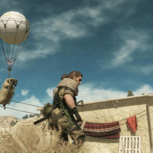 E3 2014: Sheep fly in Metal Gear Solid V: The Phantom Pain