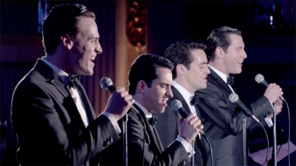four seasons singing on stage