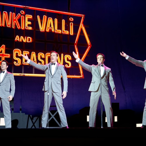 Review: 'Jersey Boys' delivers nostalgia and magic but not the drama