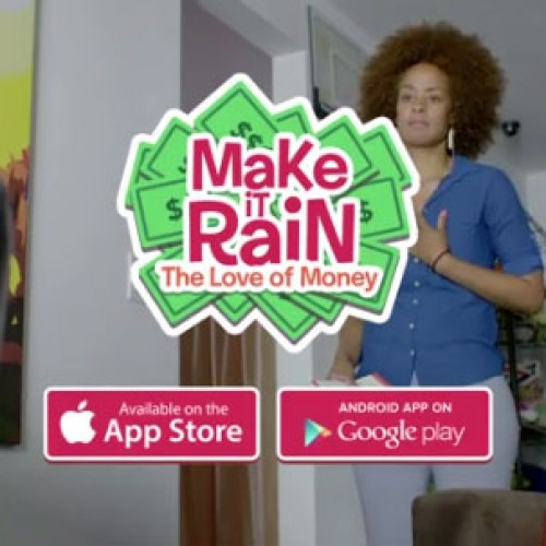 Mobile game 'Making It Rain' ad is hilarious…if you have a dirty mind