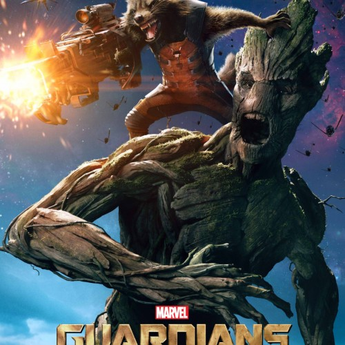 These Guardians of the Galaxy character poster are out of this world