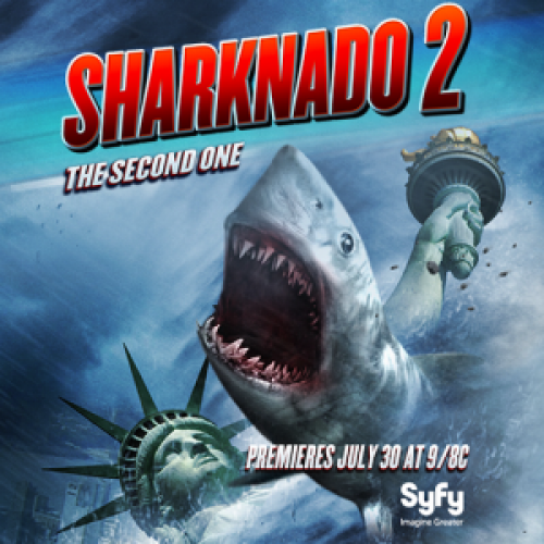 Sharknado 2 trailer…it exists