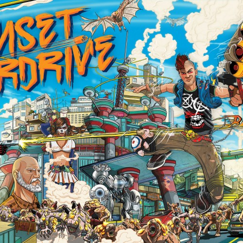 E3 2014: 'Sunset Overdrive' is fast paced and fun