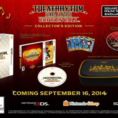 Theatrhythm Final Fantasy: Curtain Call coming in September