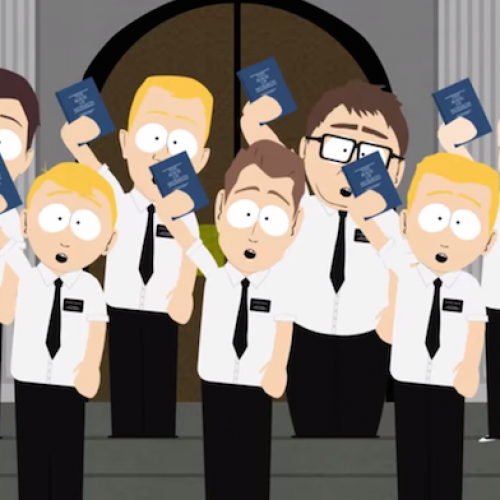 Amazing fan-made South Park/Book of Mormon mashup